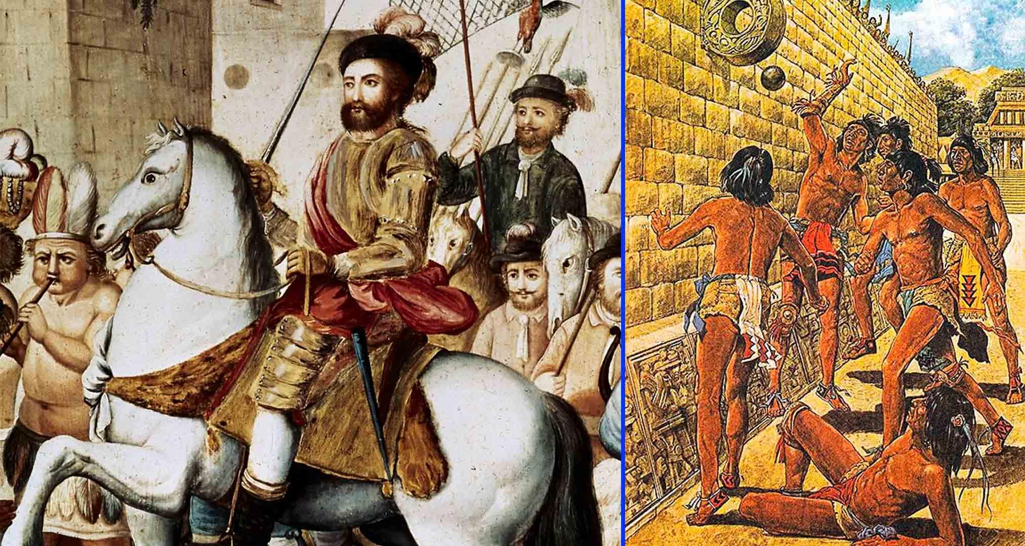 Bernal Díaz del Castillo,conquistadorespañol- Juego Azteca